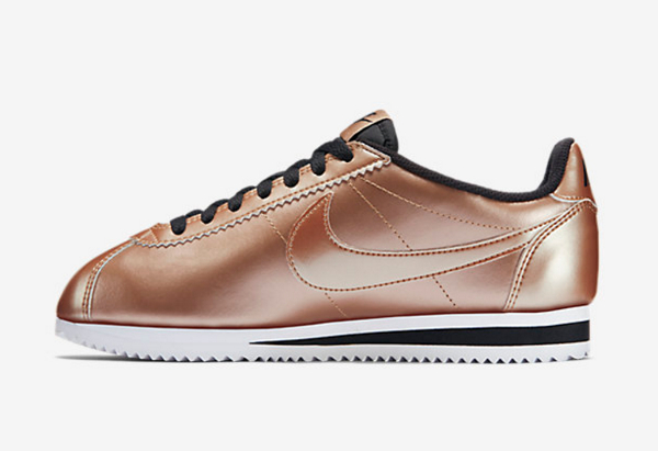 Nike Wmns Classic Cortez Leather Metallic Red Bronze (5)