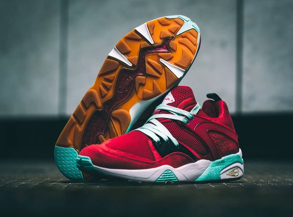 Puma Blaze Of Glory Rio Red x Sneaker Freaker x Packer (1)
