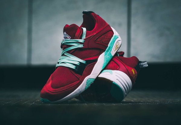 Puma Blaze Of Glory Rio Red x Sneaker Freaker x Packer (2)