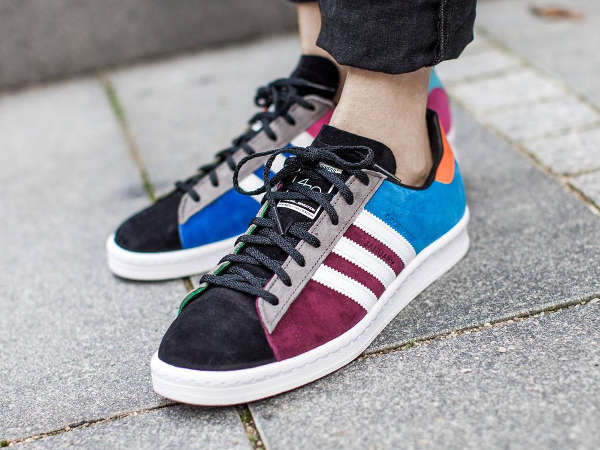 The Fourness x Adidas Campus 80's Bright Blue (1)