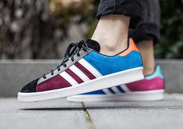 The Fourness x Adidas Campus 80's Bright Blue (4)