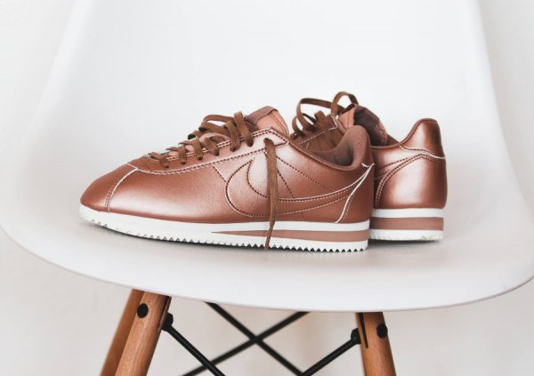 Nike Cortez Leather Rouge Bronze (Rose Or) : où l'acheter ?