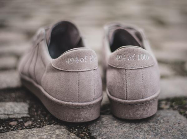 adidas superstar suede gris