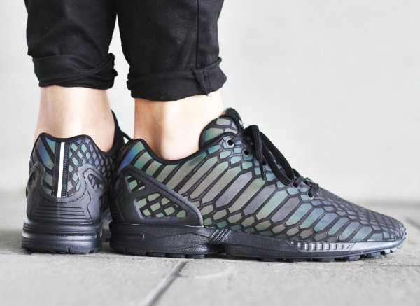 Adidas ZX Flux Statement Xeno 'Black Reflective'