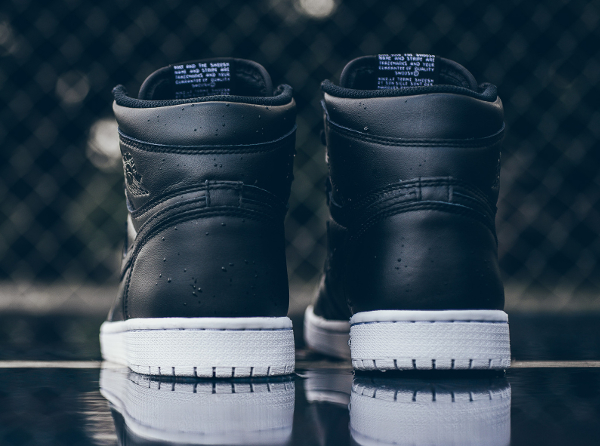 Air Jordan 1 Retro High OG Black Premium Leather (4-1)