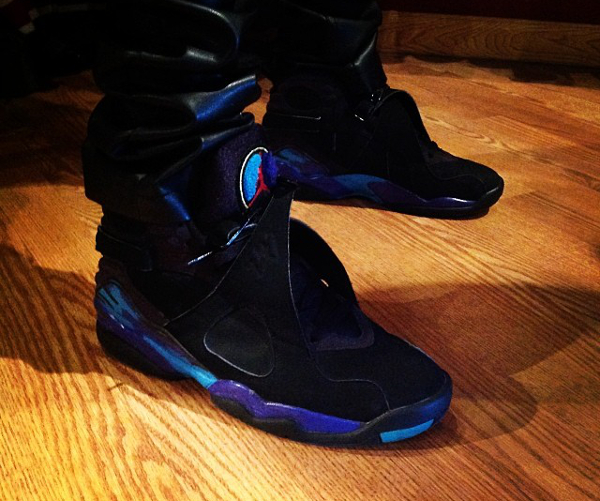 porter la Air Jordan 8 Retro Aqua - @mvlxk_100