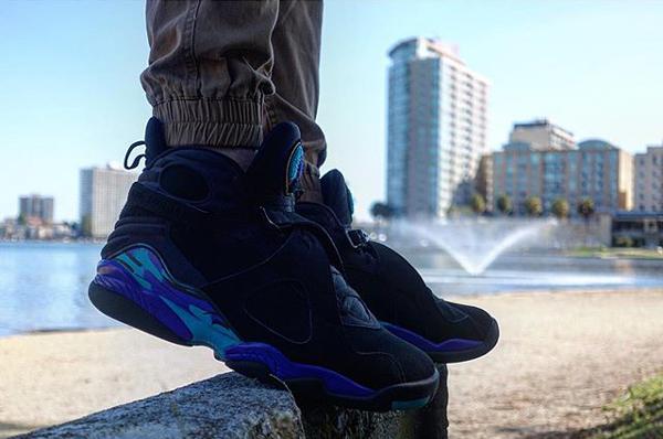 Air Jordan 8 Aqua - @quazieflow