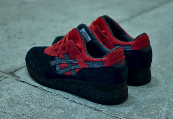 Asics Gel Lyte 3 Black Red (rouge & noire) (2)
