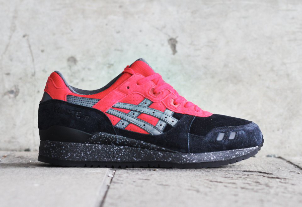 Asics Gel Lyte 3 Black Red (rouge & noire) (6)