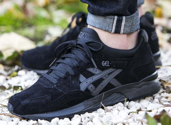 asics gel lyte v nubuck shadow black. Black Bedroom Furniture Sets. Home Design Ideas
