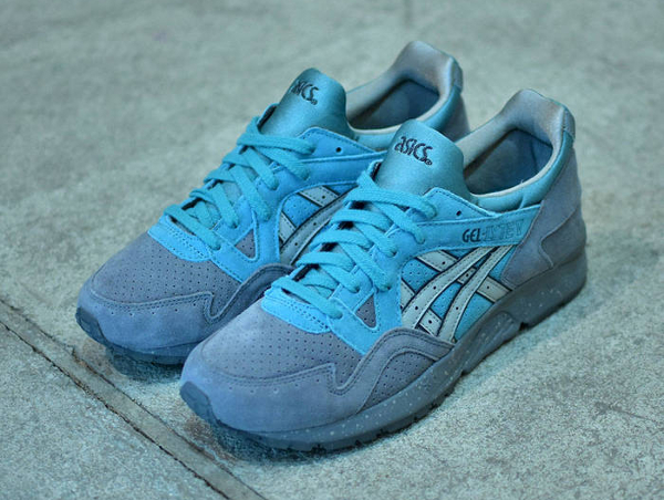 Asics Gel Lyte V Suede Grey Latigo Bay (2)