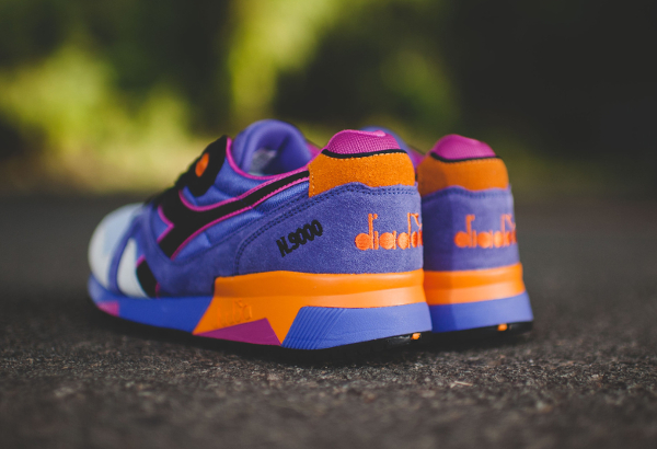 Diadora N9000 Violet Purple Orange (8)