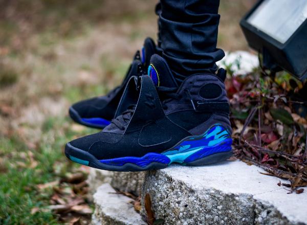 Jeans slim Air Jordan 8 Aqua - @SupremeLotus