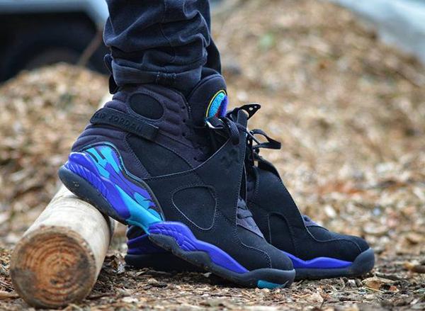 Jeans slim Air Jordan 8 Aqua - @houdelaly (2)