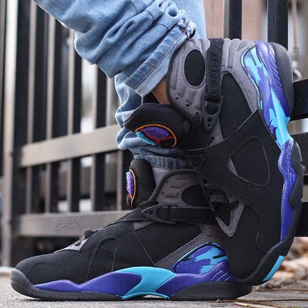 Jeans slim Air Jordan 8 Aqua - @jrsole (2)