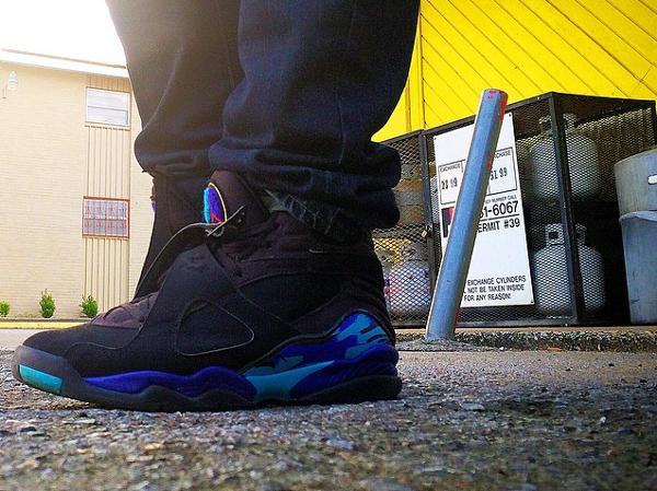 Jeans slim Air Jordan 8 Aqua - @justnkix
