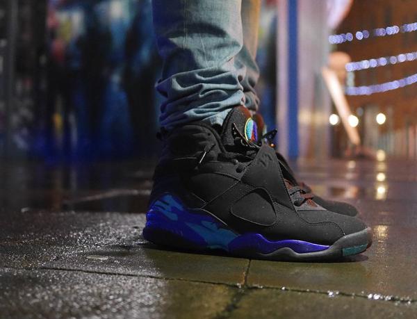 Jeans slim Air Jordan 8 Aqua - @moses198