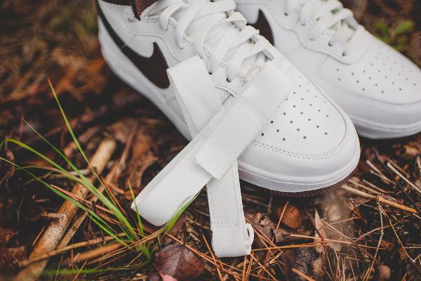 Nike Air Force 1 Hi QS Retro White Summit Chocolate (10)