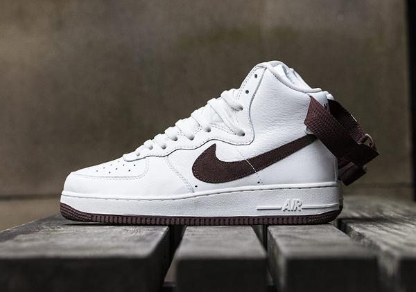 Nike Air Force 1 Hi QS Retro White Summit Chocolate (11)