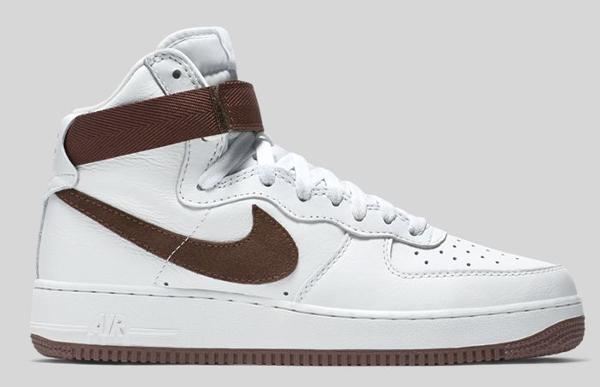 Nike Air Force 1 Hi QS Retro White Summit Chocolate (3)