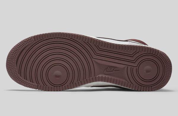 Nike Air Force 1 Hi QS Retro White Summit Chocolate (4)