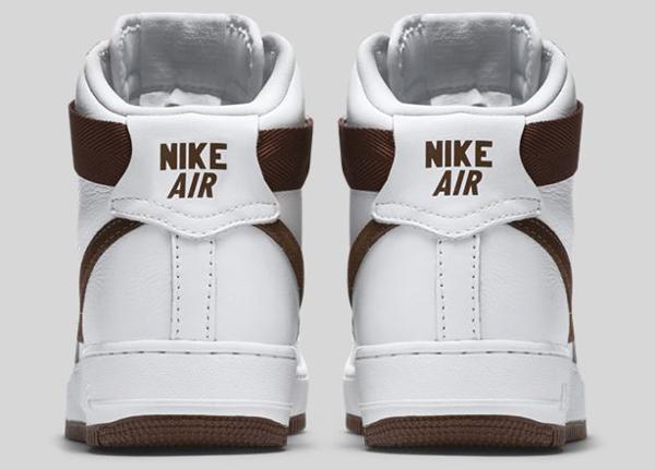 Nike Air Force 1 Hi QS Retro White Summit Chocolate (5)