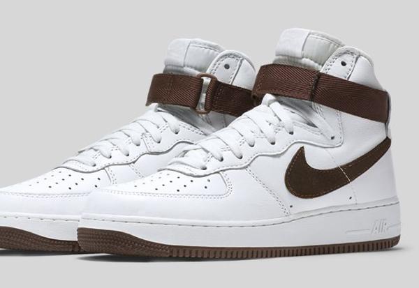 Nike Air Force 1 Hi QS Retro White Summit Chocolate (6)