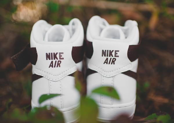 Nike Air Force 1 Hi QS Retro White Summit Chocolate (7)