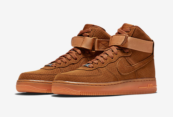nike air force 1 high suede femme