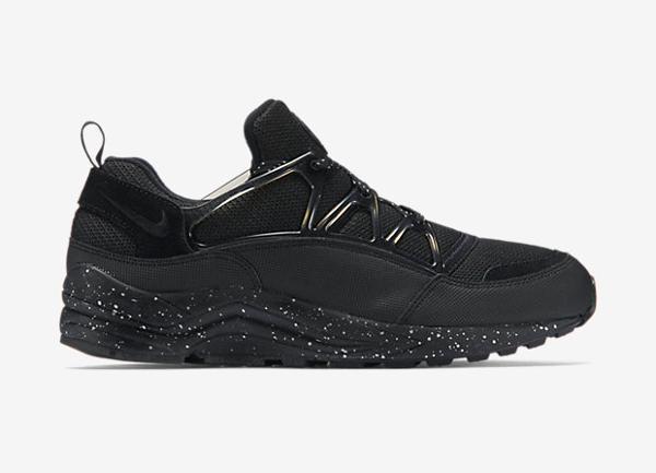 Nike Air Huarache Light PRM Black Metallic Pewter (4)