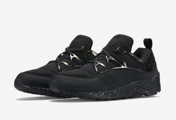 Nike Air Huarache Light PRM Black Metallic Pewter (7)