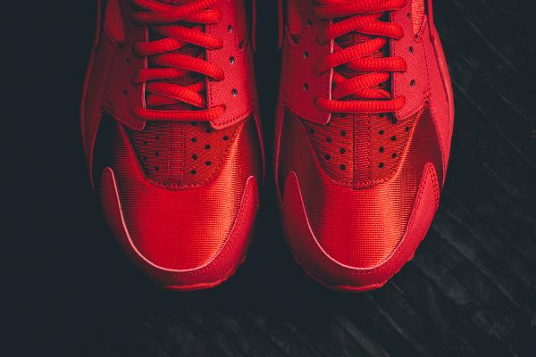 Nike Air Huarache rouge (4)