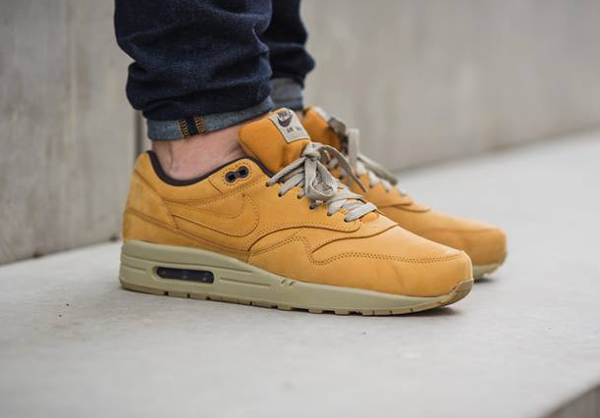 nike air max 1 leather premium bronze
