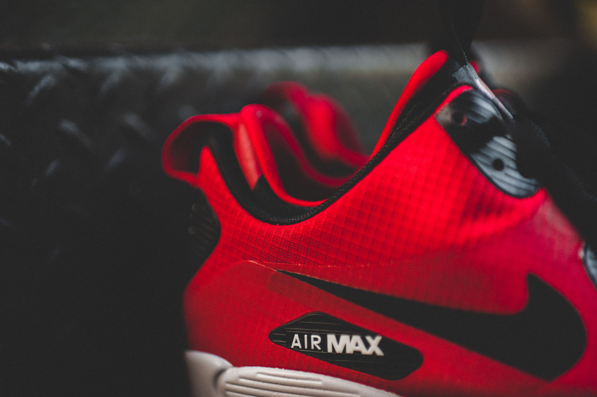 nike air max 90 mid winter rouge
