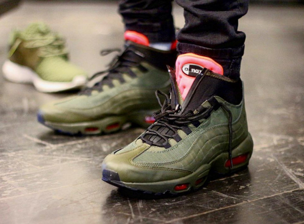 basket nike air max 95 sneakerboot