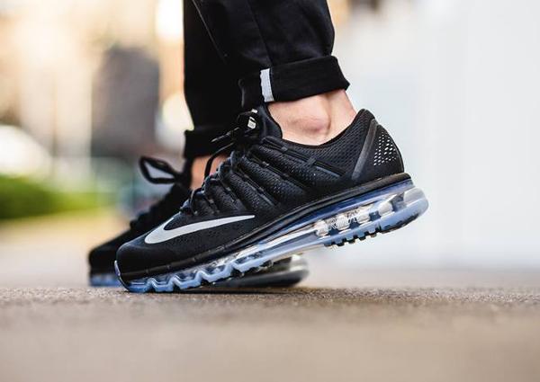 Nike Air Max Flywire EM 2016 Black White (2)