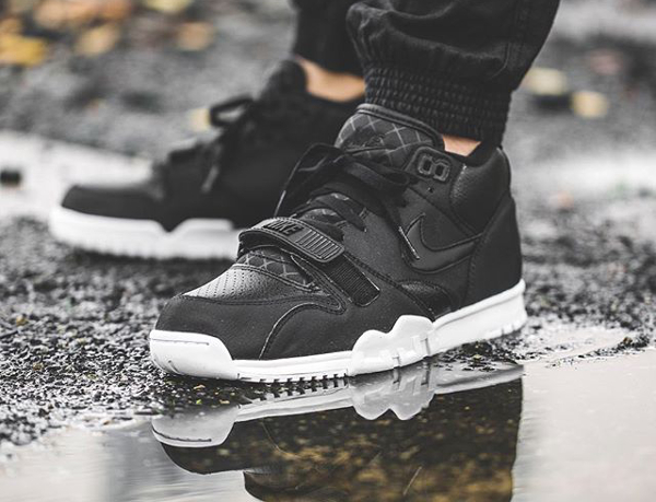 Nike Air Trainer 1 Mid Black White (1)