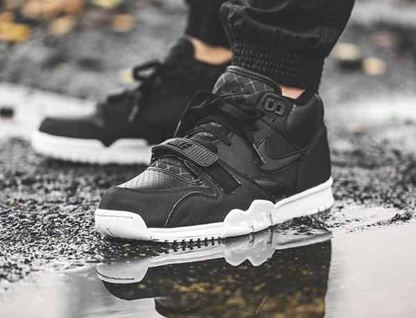 Nike AIR TRAINER 1 MID Noir 9Pvilf3Iq