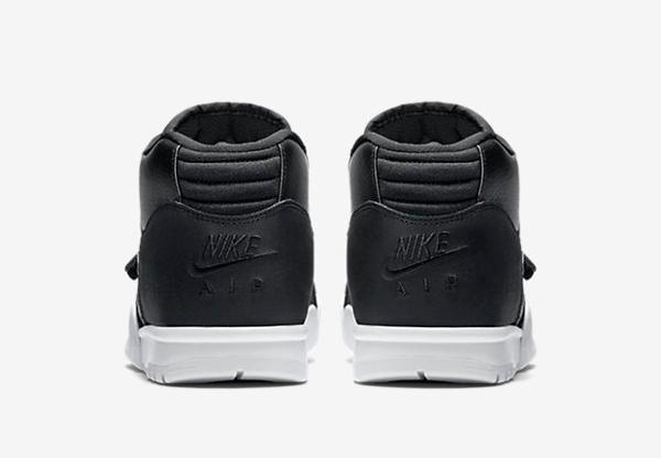 Nike Air Trainer 1 Mid cuir noir (10)