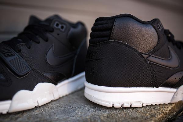 Nike Air Trainer 1 Mid cuir noir (2)