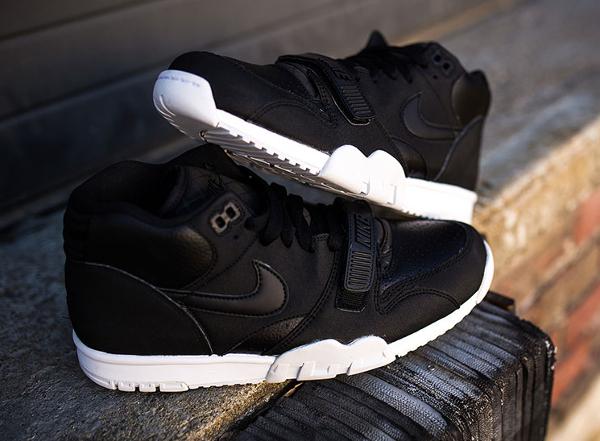 Nike Air Trainer 1 Mid cuir noir (5)