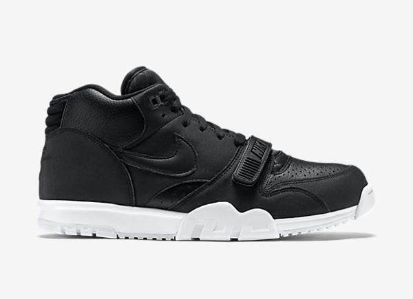 Nike Air Trainer 1 Mid cuir noir (6)