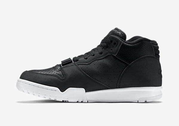 Nike Air Trainer 1 Mid cuir noir (8)