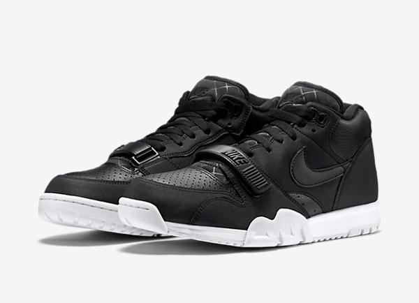 Nike Air Trainer 1 Mid cuir noir (9)