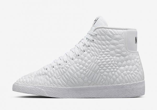 Nike Wmns Diamondback Roshe Run & Blazer 'White'