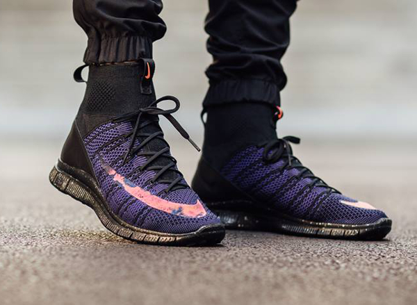 Nike Free Flyknit Mercurial Superfly CR7 Black Crimson Court Purple (1)