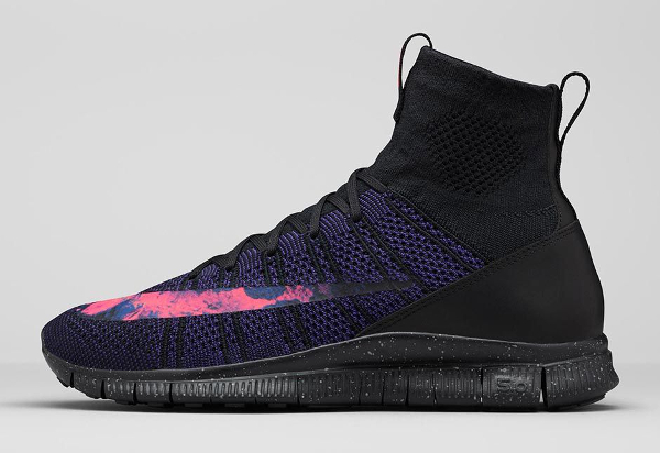 Nike Free Flyknit Mercurial Superfly CR7 Black Crimson Court Purple (5)