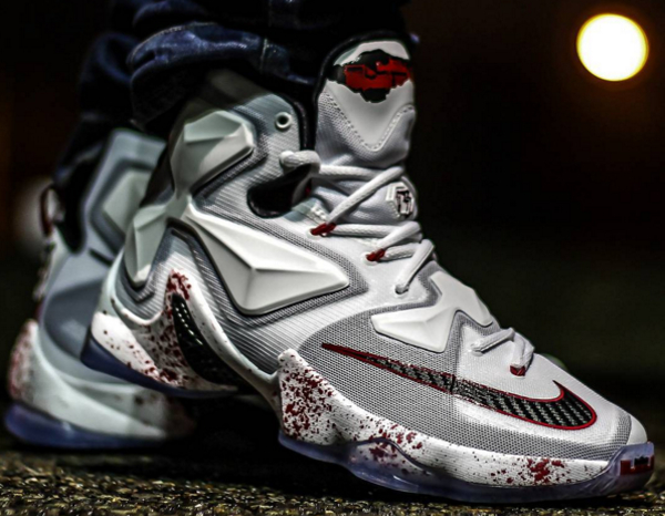 Nike Lebron 13 Horror Flick (Friday 13th) (1)