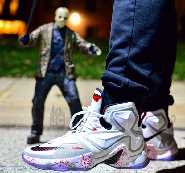 Nike Lebron 13 Horror Flick (Friday 13th) (2)