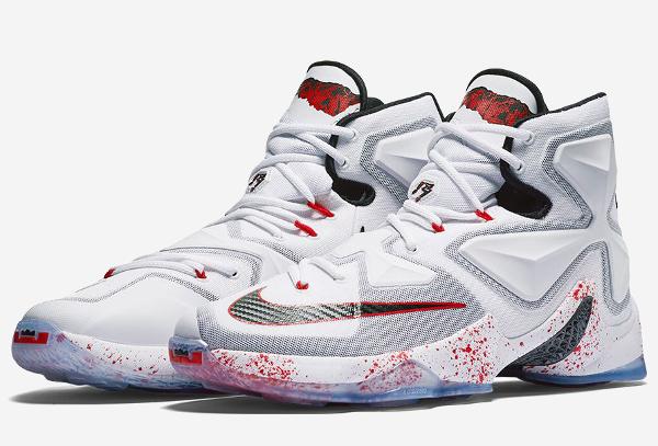 Nike Lebron 13 taches de sang (15)
